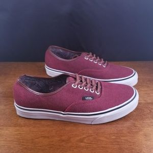 Men's Van's Red Shoes *Like New*